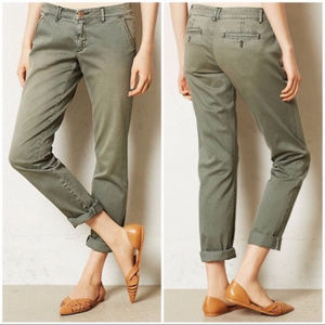 Anthro Pilcro & the Letterpress hyphen chino pants